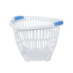 Modelüks Ayaklı Küçük Boy Çamaşır Sepeti - Beyaz