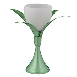 Safir Light Lale Figürlü Masa Lambası - Yeşil