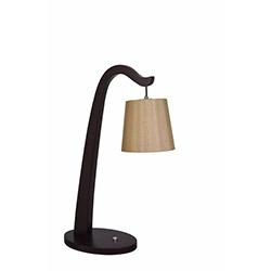 Safir Light Tek Ayaklı Masa Lambası - Kahverengi