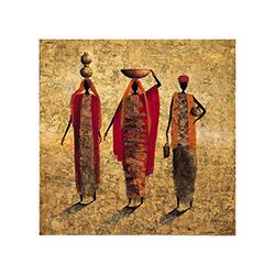 Dekorjinal MDFTEK242 Dekoratif MDF Tablo - 33x33 cm