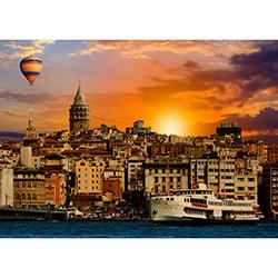 Duvar City DYLC 8031 Led Işıklı Kanvas Tablo - 50x70 cm