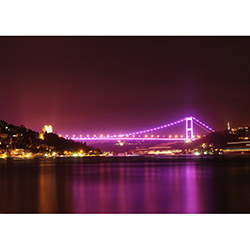 Duvar City DYLC 8042 Led Işıklı Kanvas Tablo - 50x70 cm