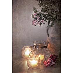 Duvar DYLC 7063 Mum Efektli Led Işıklı Tablo - 50x70 cm