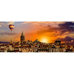 Duvar DYLC 9025 Led Işıklı Panoramic Tablo - 40x100 cm