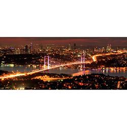 Duvar DYLC 9027 Led Işıklı Panoramic Tablo - 40x100 cm