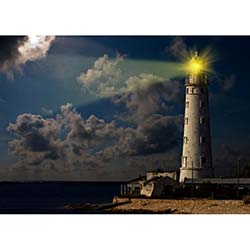 Duvar DLC 1225 City & Mix Led Kanvas Tablo - 50x70 cm