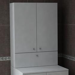 House Line Palmiro Çamaşır Makinası Üst Dolap - Beyaz