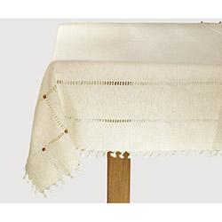 Bedinn Naturel Cendere Masa Örtüsü (Altın) - 140x140 cm
