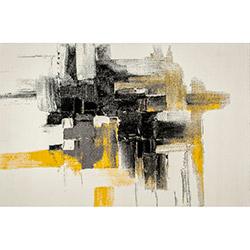 Halıdeppo 1871 Young Halı (Gri/Sarı)  - 160x230 cm