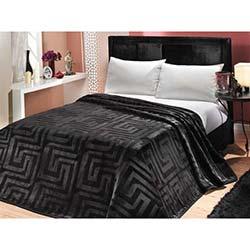 Mink Premium Çift Kişilik Battaniye - 618 Siyah
