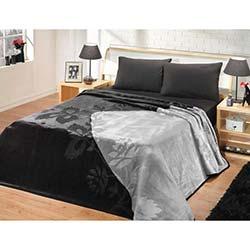 Mink Premium Çift Kişilik Battaniye - 624 Siyah Gri