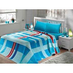 Mink Solana Çift Kişilik Battaniye - 963 Mavi