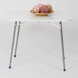 Ellnaz Katlanır Piknik Masası - Beyaz