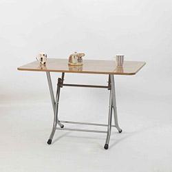Ellnaz MS0012 Yana Yatan Mutfak ve Balkon Masası - Samba
