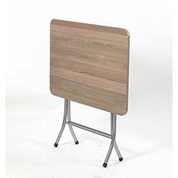Ellnaz MS0013 Yana Yatan Mutfak ve Balkon Masası - Cordoba