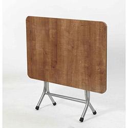 Ellnaz MS0014 Yana Yatan Mutfak ve Balkon Masası - Sümela