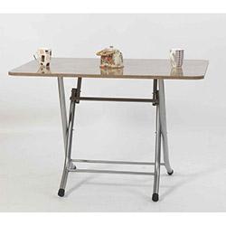 Ellnaz MS0015 Yana Yatan Mutfak ve Balkon Masası - Ceviz