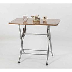 Ellnaz MS0025 Yana Yatan Mutfak ve Balkon Masası - Ceviz