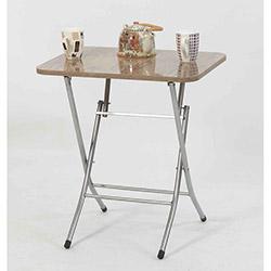 Ellnaz MS0055 Yana Yatan Mutfak ve Balkon Masası - Ceviz