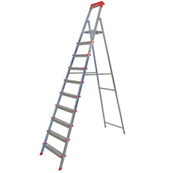 Bigmaster 9 Basamaklı Statik Merdiven - Gri