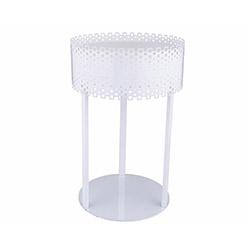 Aras Daire Ledli Masa Lambası - Beyaz