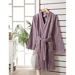 Rosemus Solid S/M Kimono Bornoz - Lila