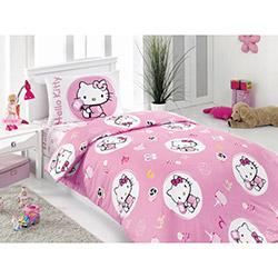 Hello Kitty Lisanslı 002 Candy Tek Kişilik Nevresim Takımı