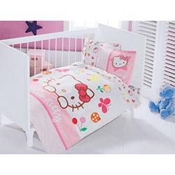 Hello Kitty Lisanslı Fancy Bebek Nevresim Takımı
