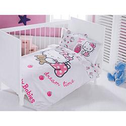 Hello Kitty Lisanslı Ribbon Bebek Nevresim Takımı