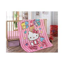 Hello Kitty Lisanslı Bear İspanyol Bebek Battaniyesi