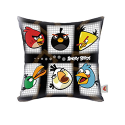 Angry Birds Angry_33 Lisanslı Dekoratif Kırlent