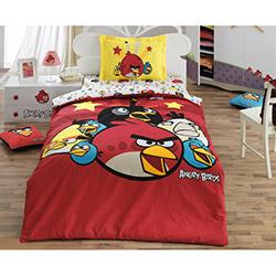 Angry Birds Ab_01 Lisanslı Tek Kişilik Nevresim Takımı