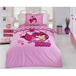 Angry Birds Ab_06 Lisanslı Tek Kişilik Nevresim Takımı