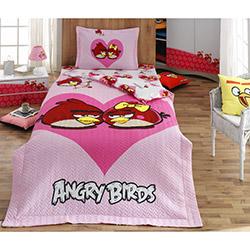 Angry Birds 002 Lisanslı Dört Mevsim Tek Kişilik Set