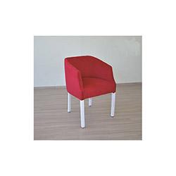 Comfy Home Limon Lobi Sandalye - Kırmızı