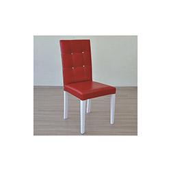 Comfy Home Gizem Capitone Sandalye - Kırmızı