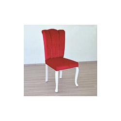 Comfy Home Avangard Yarmalı Sandalye - Kırmızı