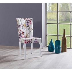 Comfy Home Yarmalı Sandalye - Krem