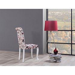 Comfy Home Topuzlu Lükens Sandalye - Krem