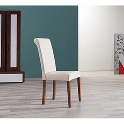 Comfy Home Topuzlu Sandalye - Krem