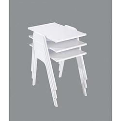 Comfy Home Semer Zigon Sehpa - Beyaz