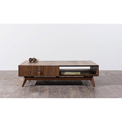 Comfy Home Soft Orta Sehpa - Kahverengi