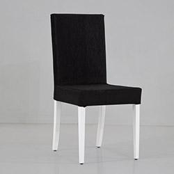 Comfy Home Düz Sandalye - Siyah
