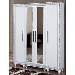 Comfy Home Kardelen Portmanto - Beyaz