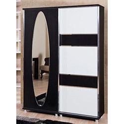 Comfy Home Akasya Portmanto - Siyah / Beyaz