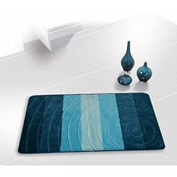 Gökyıldız Colorline Senta Banyo Paspası (Turkuaz) - 66x120 cm