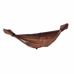 Simple Living Ahşap Gondol Sepet - 47x16 cm