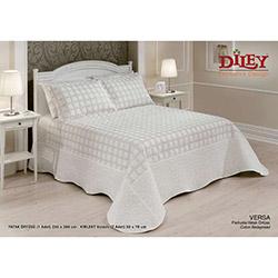 Diley Home 002 Versa Çift Kişilik Yatak Örtüsü - Krem