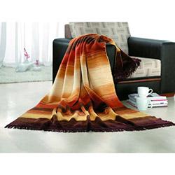 Suave Cotton Melisa Tek Kişilik Battaniye - Kahverengi