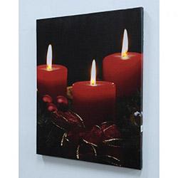 Mum Işığı Led Kanvas Tablo - 40 x 50 cm